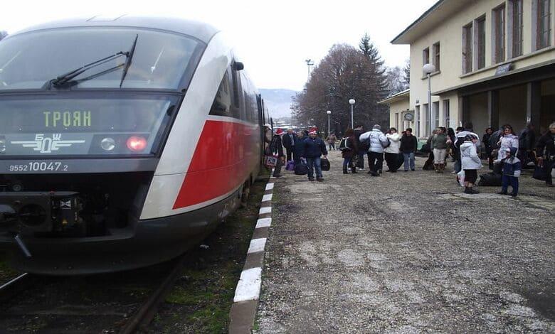 Промяна разписание за влакове