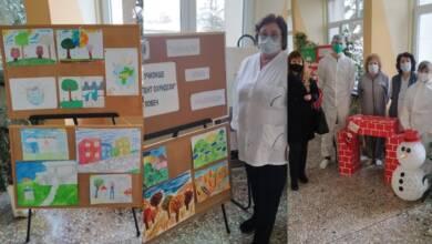 Деца изразиха благодарност към медиците