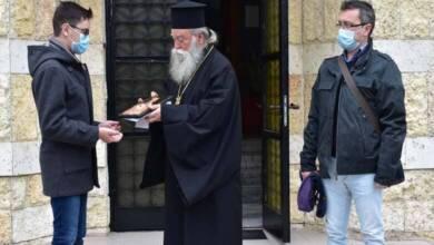 Митрополит Гавриил награди ученикът Николай