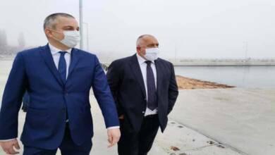 "Борисов посети новото рибарско пристанище в кв. ""Аспарухово"" във Варна"