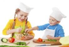 Сборник предлага 15 урока за здравословно хранене на децата