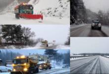 Републиканските пътища са проходими при зимни условия